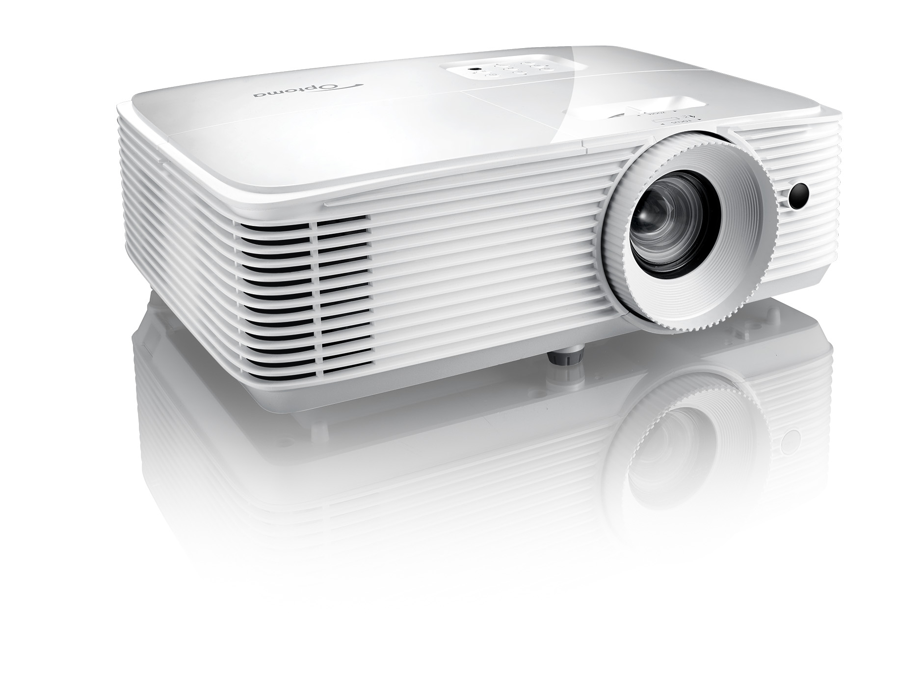 Eh335 compact and powerful projector optoma asia for Small powerful projector