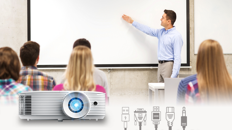 Eh335 Compact And Powerful Projector Optoma Asia
