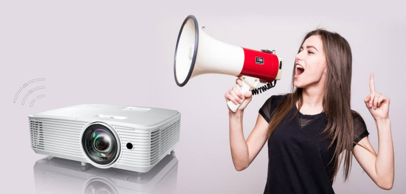 Optoma X318ST Short Throw Projector (Sold Out) Powerful-10W-Speaker-U2ST-72dpi-1